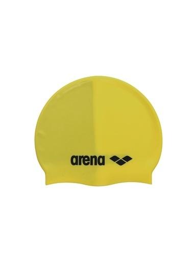 Arena Arena Classic Silicone Yüzücü Bone Sarı